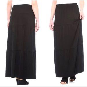 Cynthia Rowley 3 Tier Maxi Skirt NWT S